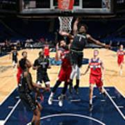 Washington Wizards v Minnesota Timberwolves Art Print