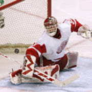 2007 NHL Playoffs - Game Six - San Jose Sharks vs Detroit Red Wings Art Print