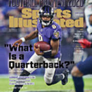 2020 Football Preview Sports Illustrated Cover Art Print