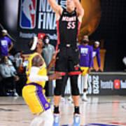 2020 NBA Finals - Los Angeles Lakers v Miami Heat Art Print