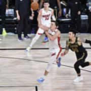 2020 NBA Finals - Miami Heat v Los Angeles Lakers Art Print