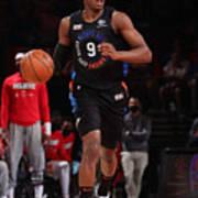 2021 NBA Playoffs - Atlanta Hawks v New York Knicks Art Print