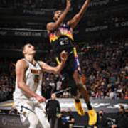 2021 NBA Playoffs - Denver Nuggets v Phoenix Suns Art Print