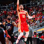 2021 NBA Playoffs - New York Knicks v Atlanta Hawks Art Print