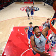 2021 NBA Playoffs - Philadelphia 76ers v Washington Wizards Art Print
