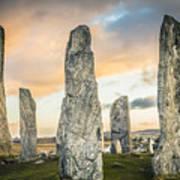 Callanish Standing Stones, Isle of Lewis Art Print