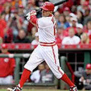 Joey Votto Art Print