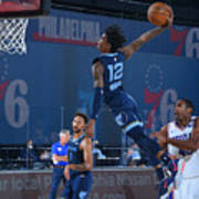 Memphis Grizzlies v Philadelphia 76ers Art Print