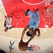 Memphis Grizzlies v Washington Wizards Art Print