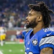 NFL: JAN 01 Packers at Lions Art Print