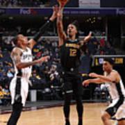 Play-In Tournament - San Antonio Spurs v Memphis Grizzlies Art Print