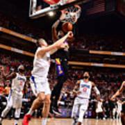 2021 NBA Playoffs - LA Clippers v Phoenix Suns Art Print