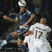 Argentina v Uruguay: Group B - 2015 Copa America Chile Art Print
