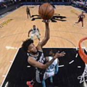 Charlotte Hornets v Sacramento Kings Art Print