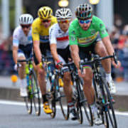 Cycling: 4th Tour de France Saitama Criterium 2016 Art Print