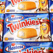 Last Shipment Of Hostess Twinkies Arrives In Chicago Area Stores Art Print