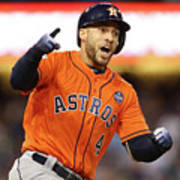George Springer Art Print