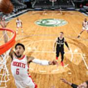 Houston Rockets v Milwaukee Bucks Art Print
