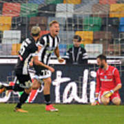 Udinese Calcio v Atalanta BC - Serie A Art Print