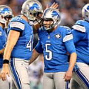 Wild Card Playoffs - Detroit Lions v Dallas Cowboys Art Print