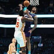 Atlanta Hawks v Charlotte Hornets Art Print