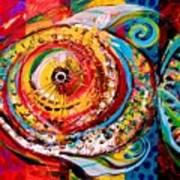 Acidfish Junior Art Print