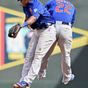 Addison Russell and Starlin Castro Art Print