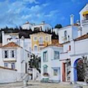Afternoon Light In Montenegro Art Print