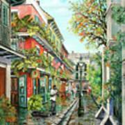 Alley Jazz Art Print