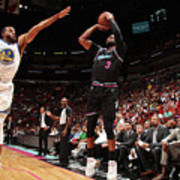 Andre Iguodala and Dwyane Wade Art Print
