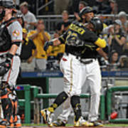 Andrew Mccutchen and Starling Marte Art Print