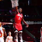 Atlanta Hawks v Houston Rockets Art Print