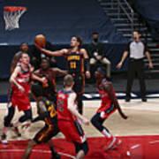 Atlanta Hawks v Washington Wizards Art Print