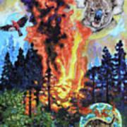 Australia's on Fire Art Print