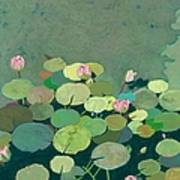 Bettys Serenity Pond Art Print