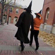 Bewitching Attractions Draw Visitors To Salem Art Print