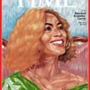 Beyonce Knowles Carter, 2014 Art Print