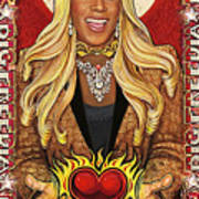 A Portrait of Big Freedia Art Print