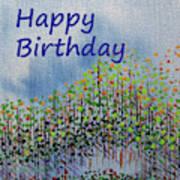 Birthday forest calm Art Print