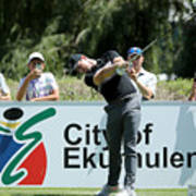 BMW South African Open Championship - Previews Art Print