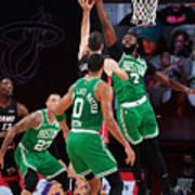 Boston Celtics v Miami Heat - Game Three Art Print