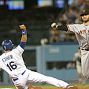 Brandon Crawford and Andre Ethier Art Print