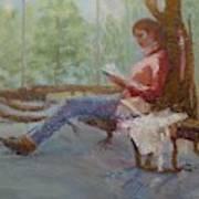 Break at Museum II Art Print
