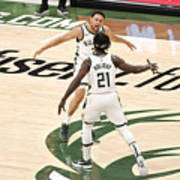 Bryn Forbes and Jrue Holiday Art Print