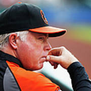 Buck Showalter Art Print