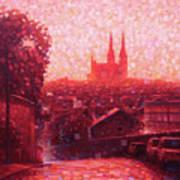 Cathedral Sunrise Art Print