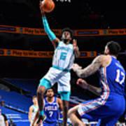 Charlotte Hornets v Philadelphia 76ers Art Print