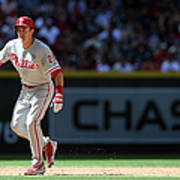 Chase Utley Art Print
