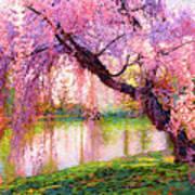 Cherry Blossom Beauty Art Print