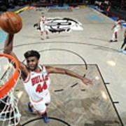 Chicago Bulls v Brooklyn Nets Art Print